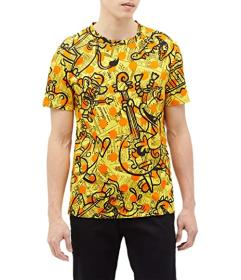 Moschino Yellow Pages Animals Print T-Shirt