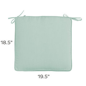 Replacement Chair Cushion 19.5x18.5 - Select Color