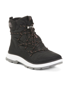 Sporty Cozy Lined Booties
