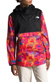 The North Face Fanorak Packable Printed Hooded Ano