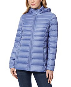 Packable Hooded Down Puffer Coat, Created for Macy