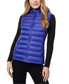 Packable Hooded Down Puffer Vest, Created for Macy