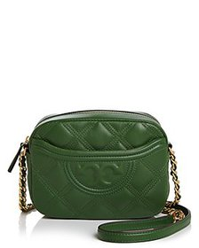Tory Burch - Fleming Soft Quilted Leather Camera B