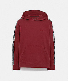 Coach horse and carriage tape hoodie