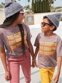 Popsugar X Old Navy Graphic Drop-Tail Gender-Neutr