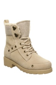 BEARPAW Alicia Faux Shearling Lace-Up Boot