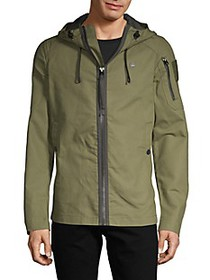 G-Star RAW Cotton Hooded Jacket
