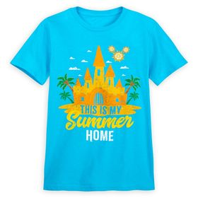 Disney Fantasyland Castle Summer Fun T-Shirt for A