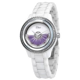 DiorGrand Bal Automatic Violet Feathers Diamond Di