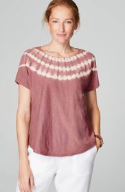 Pure Jill Tie-Dyed Relaxed Tee