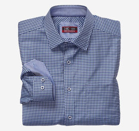 Johnston Murphy XC4® Houndstooth Check Point-Colla