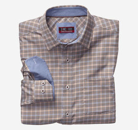 Johnston Murphy XC4 Framed Houndstooth Check Point