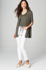 Light Elbow-Sleeve Cardi
