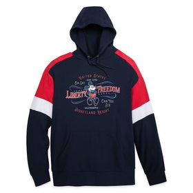 Disney Mickey Mouse Americana Pullover Hoodie for
