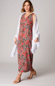 Wearever Pleated-Front Maxi Dress