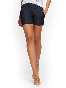 Whitney High-Waisted Pull-On 4-Inch Short - New Yo