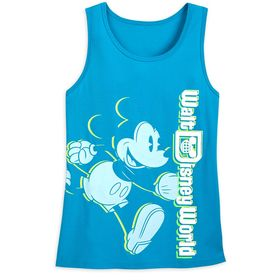 Disney Mickey Mouse Neon Tank Top for Women – Walt