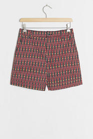 Anthropologie Abstract City Shorts