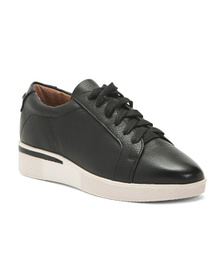 GENTLE SOULS Ultimate Comfort Leather Lace Up Snea