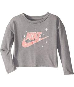 Nike Kids Sparkle Star Long Sleeve Graphic Top (To