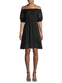 Kate Spade New York Scallop Border Knit Off-The-Sh