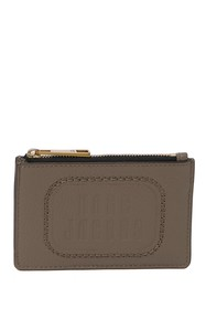 Marc Jacobs The Retro Logo Embossed ID Window Card