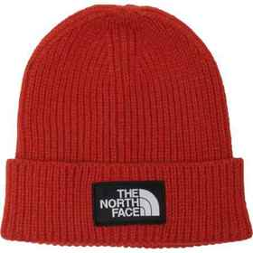The North Face Logo Box Cuffed Beanie (For Men) in