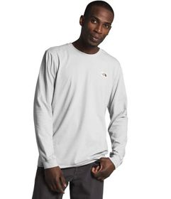 Men's Long Sleeve Recycled Materials Tee