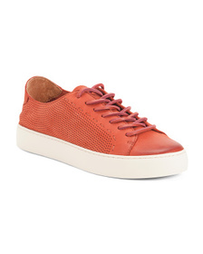 FRYE Perforated Suede Fashion Sneakers
