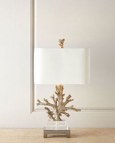 Couture Lamps Poseidon Coral Table Lamp