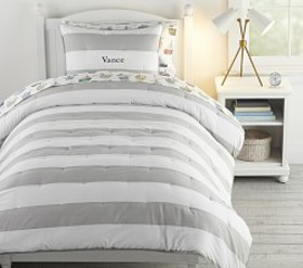 Pottery Barn Rugby Stripe Comforter