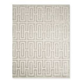 Textured Tencel Hand Knotted Rug, Sand