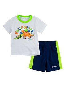 Crayola Boys Graphic T-Shirt & Shorts, 2-Piece Out