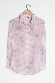 Anthropologie The Cate Classic Tie-Dye Buttondown