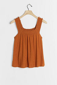 Anthropologie Lillian Ruched Tank