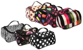 iMounTEK Mini Travel Makeup Organizer Bag with Mir