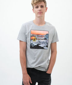 Aeropostale National Geographic Icebergs Graphic T