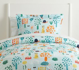 Pottery Barn west elm x pbk Woodland Colorful Sham