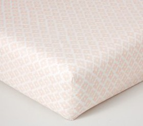 Pottery Barn Desert Geo Organic Fitted Crib Sheet