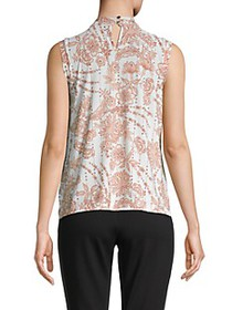Tommy Hilfiger Floral-Print Sleeveless Top