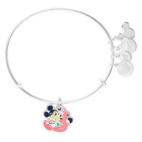 Disney Mickey Mouse with Pink Flamingo Bangle by A