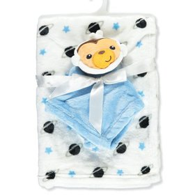 Fisher Price Plush Blanket with Toy