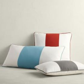 Outdoor Wide Stripe Pillow Cover