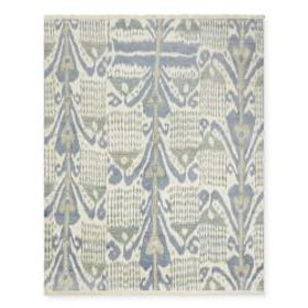 Oriande Hand Knotted Rug, Steel Blue/Teal