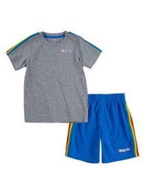 Crayola Boys T-Shirt & Shorts, 2-Piece Outfit Set,
