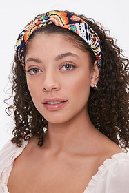 Forever21 Ornate Twist-Front Headwrap