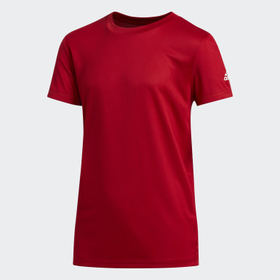 Adidas Youth Training Red CLIMA TECH TEE