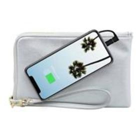Mighty Purse Spark Wristlet with Built-In Phone Ch