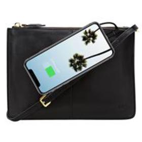 Mighty Purse XL X-Body Bag with Built-In Phone Cha