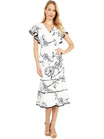 LAUREN Ralph Lauren Chazzy Cap Sleeve Day Dress